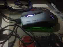 The mouse came in 2 weeks. All as in the picture, neat in the box. There is instruction. C