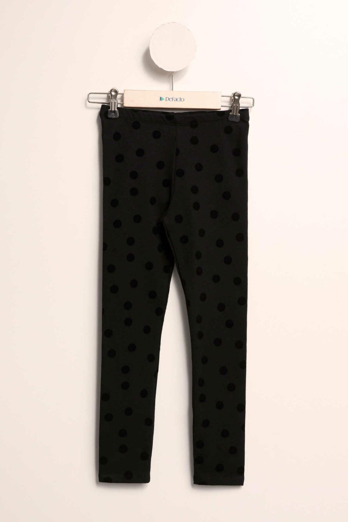 DeFacto Casual Girl Leggings Fashion Kids Lovely Pattern Comfortable Pants Girls Simple Leggings New -K8568A618CW