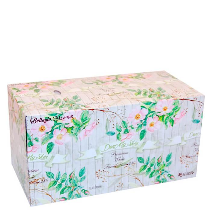 Facial Wipes Monalisa Bellagio Flower Garden Facial Tissue 280 PCs