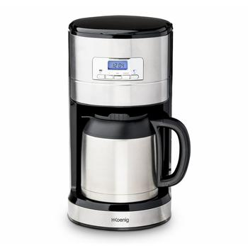 H. Koenig STW26 Drip Coffee Maker Isothermal Programmable, 1000 W, 1.2 liters