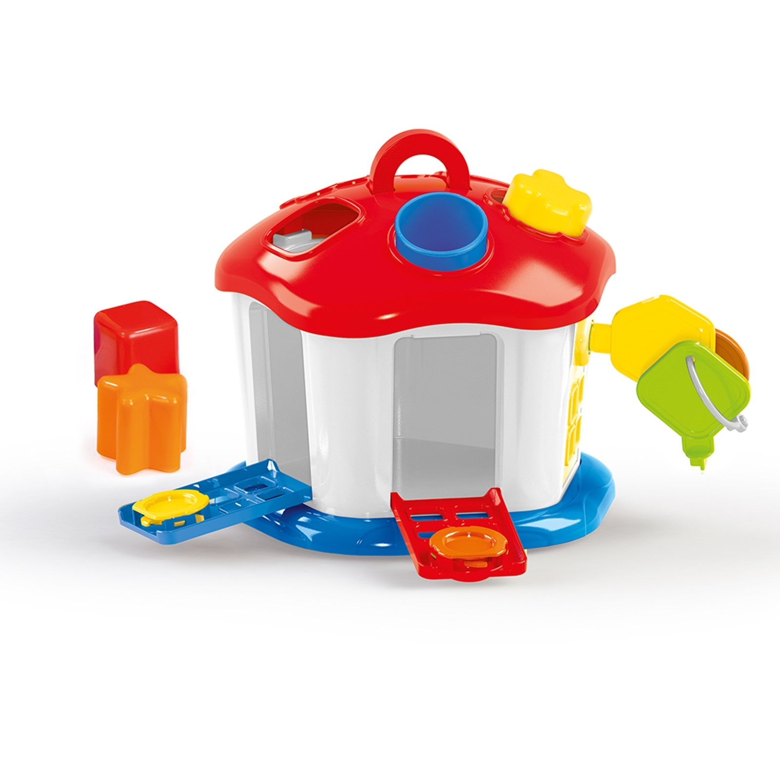 Ebebek Dolu Shape Sorter Sweet House With Lockable Doors 1 Years+