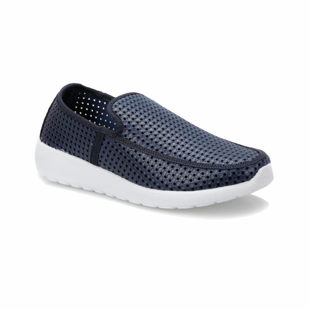 FLO GIAN-40 Navy Blue Men 'S Modern Shoes Flexall