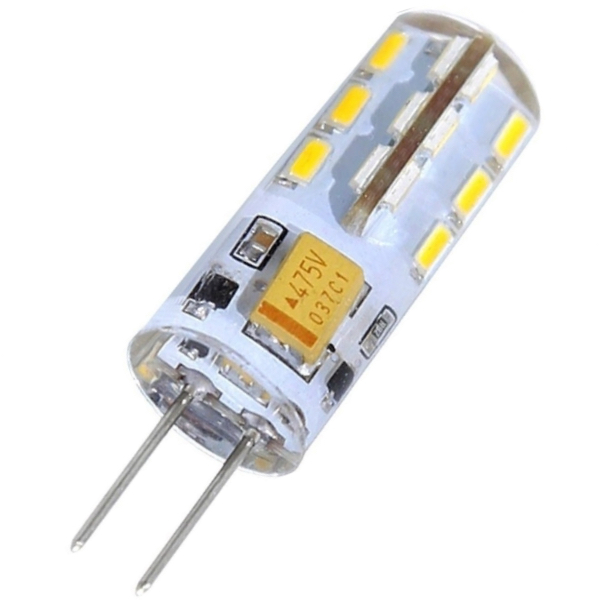 Led bulb G4 2W 3000K warm white gc e14 3w 170lm 3000k 64 3014 smd led warm white light corn bulb ac 90 240v