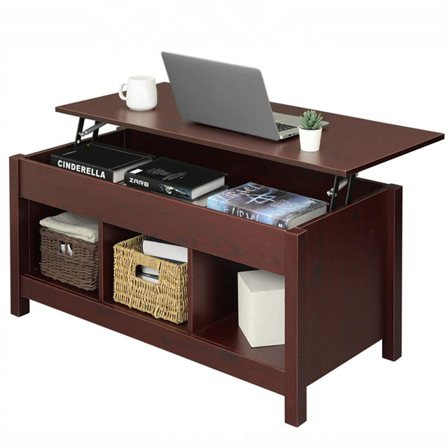 Coffee Table w/ Hidden Storage Compartment  2