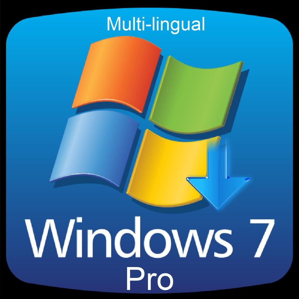 Windows 7 פרו מקצועי הפעלת קוד מפתח רב לשוני