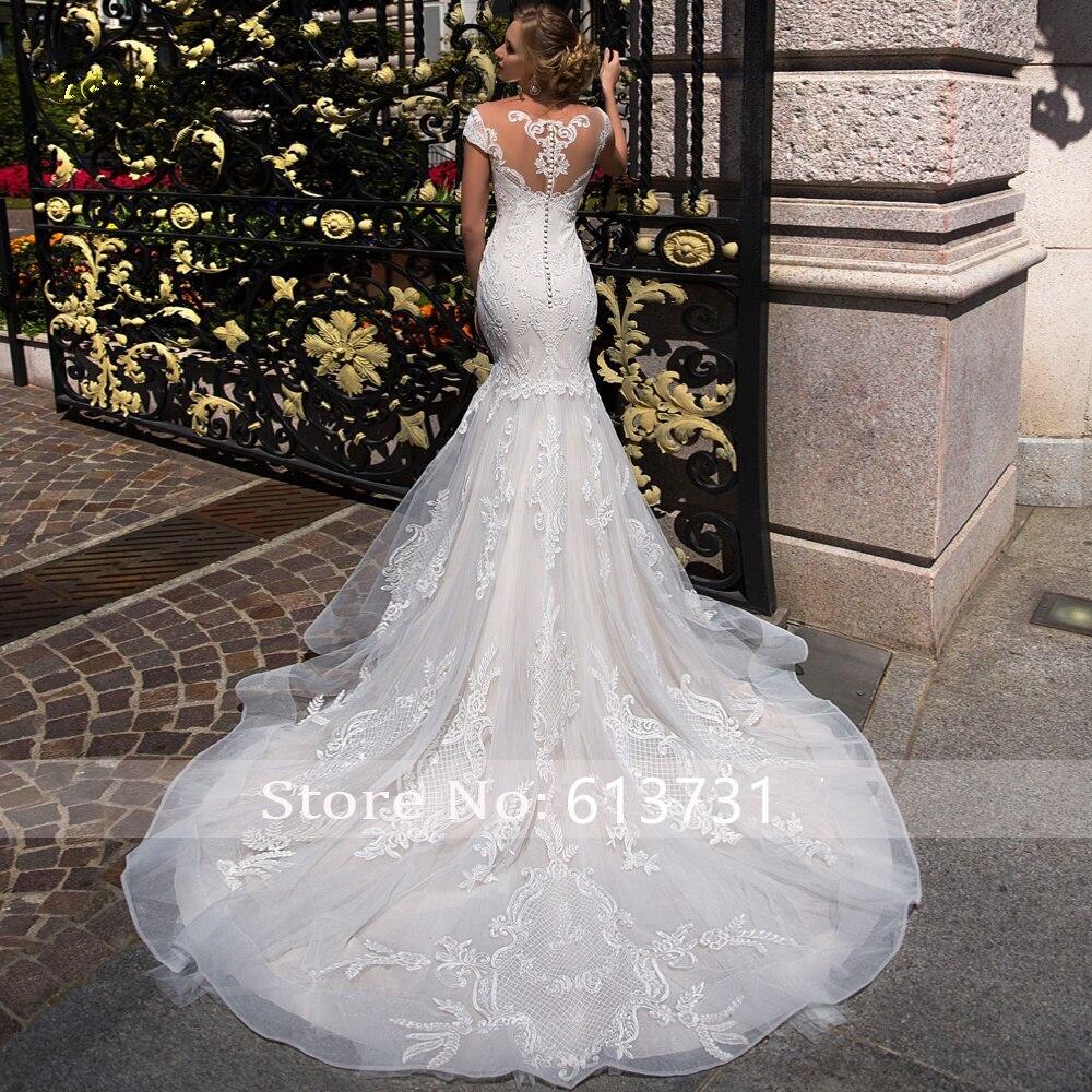 New-Fashion-Mermaid-Wedding-Dresses-2019-Off-Shoulder-Floor-Length-Wedding-Gowns-Button-Back-Applique-Strapless (1)