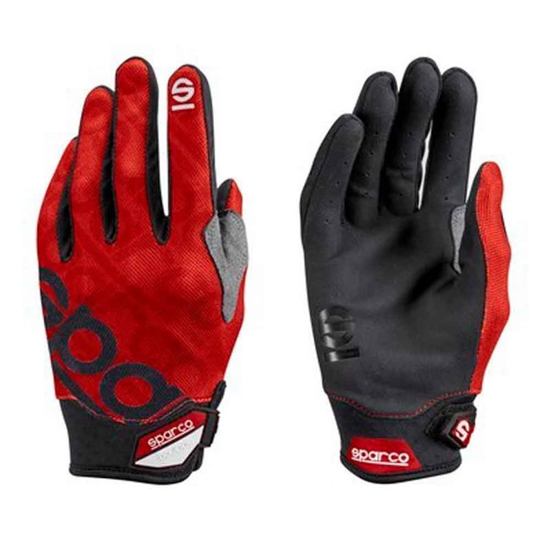 Sparco Motorcycle Gloves Mecca 3 TG. M Red