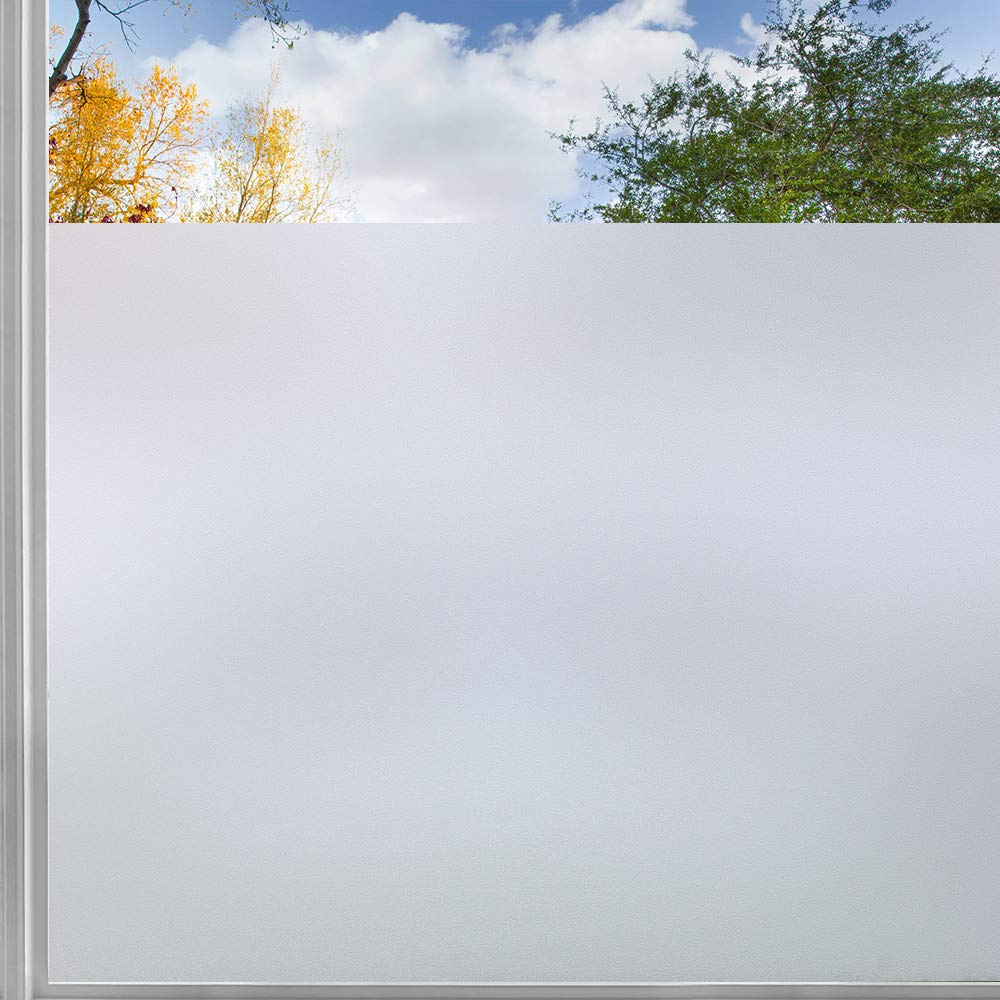 Window-Film Glass-Door-Sticker Frosted Self-Adhesive Privacy Static-Cling Matte Vinyl