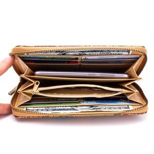 Image 4 - Cork with follower parrten cork zippler card phone womens wallet BAG 324