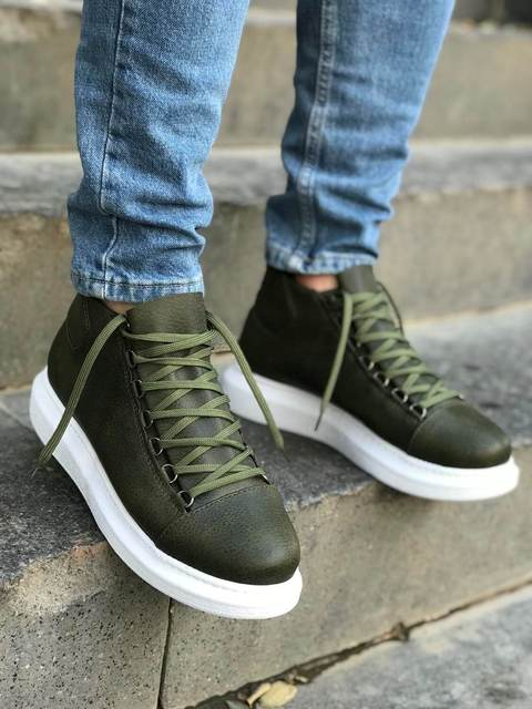 Chekich CH258 Green Male Sneakers