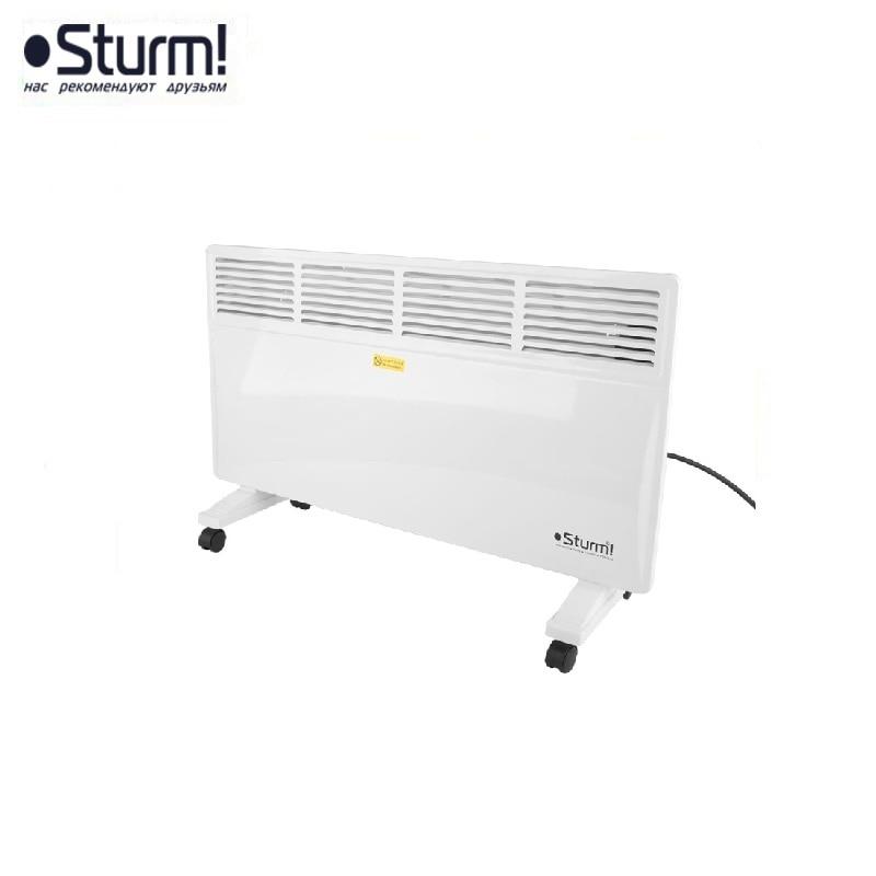 цена на CH2000 Convector 1000 / 2000W, mechanical thermostat, floor / wall, overheat / tilt protection. STURM! Convection heaters