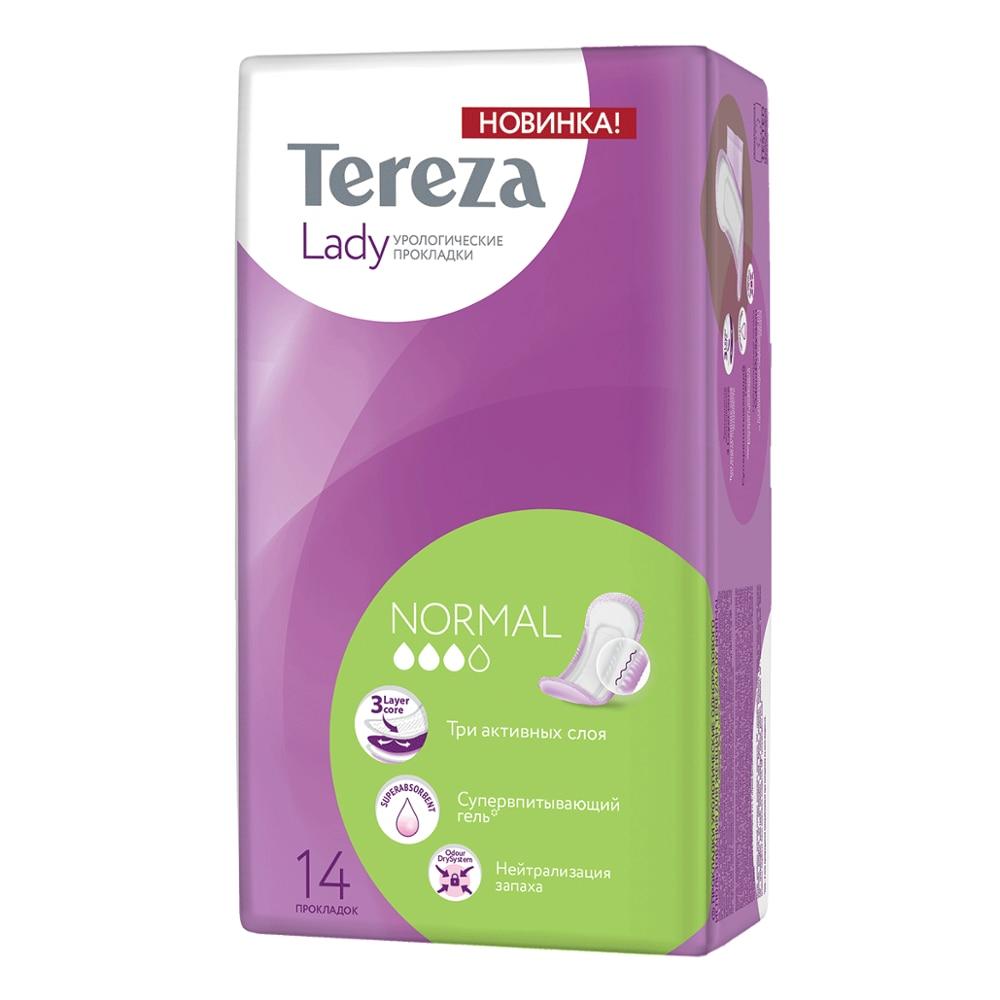 Прокладки женские урологические Normal уп.14, TerezaLady интимная женская гигиена Терезамед