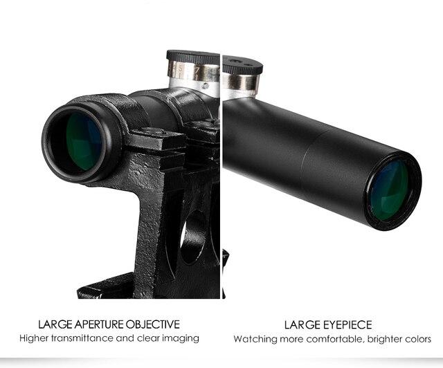 Lentilles multicouches 3.5x, anti-choc Svt-40, fusil de chasse, fusil Nagant, support de lunette de visée