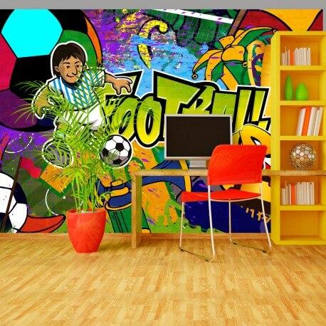 Photo Wallpaper-Football Cup