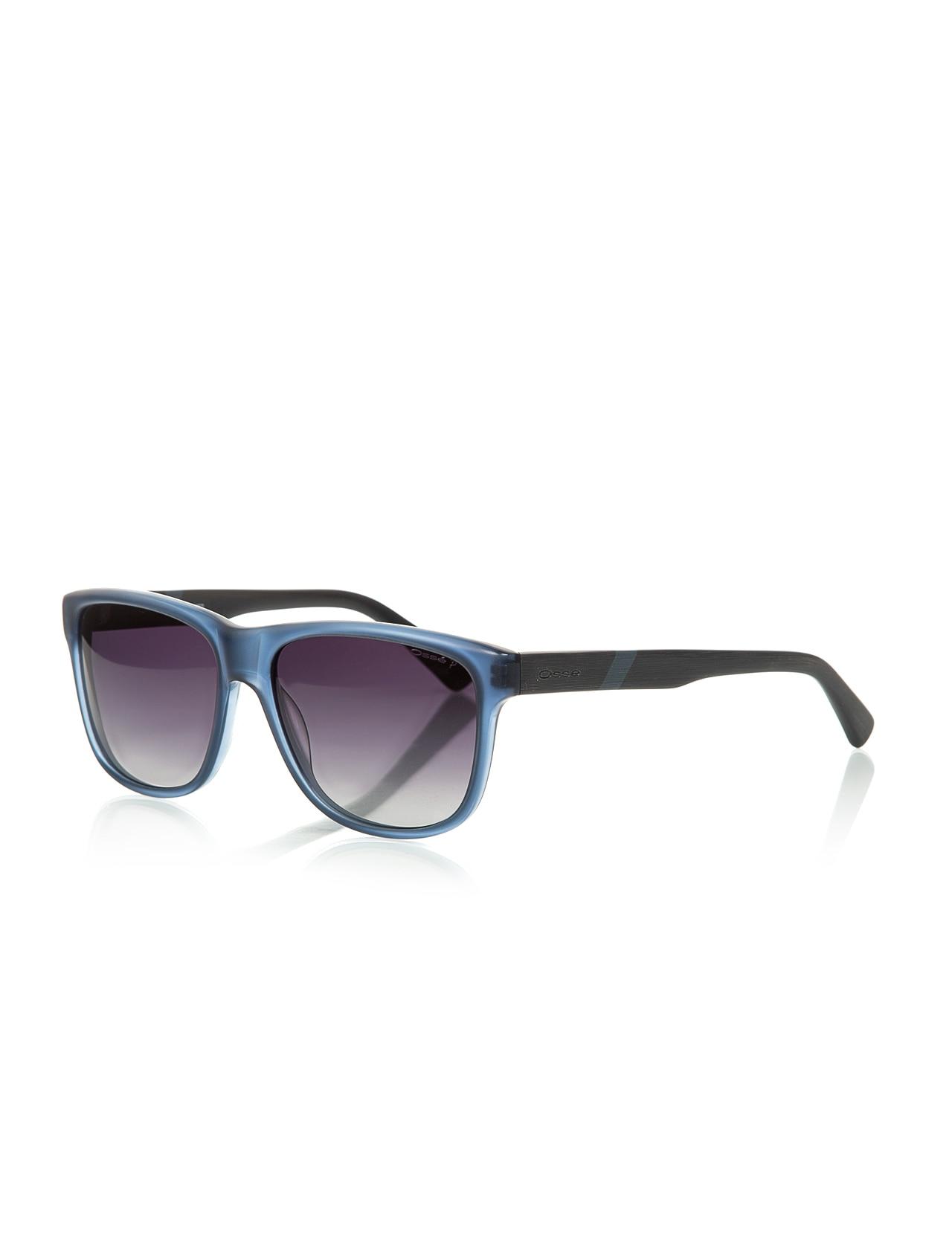 Unisex sunglasses os 2023 02 bone blue organic square square 57-16-145 osse