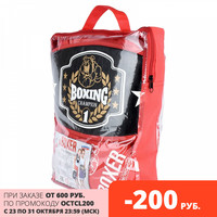 Toy Sports other 21539 set punching bag kid 2 gloves present package sport game boxing set Toy Sports 21539 Toys Hobbies Outdoor Fun Sports for children Boxing 3 years old