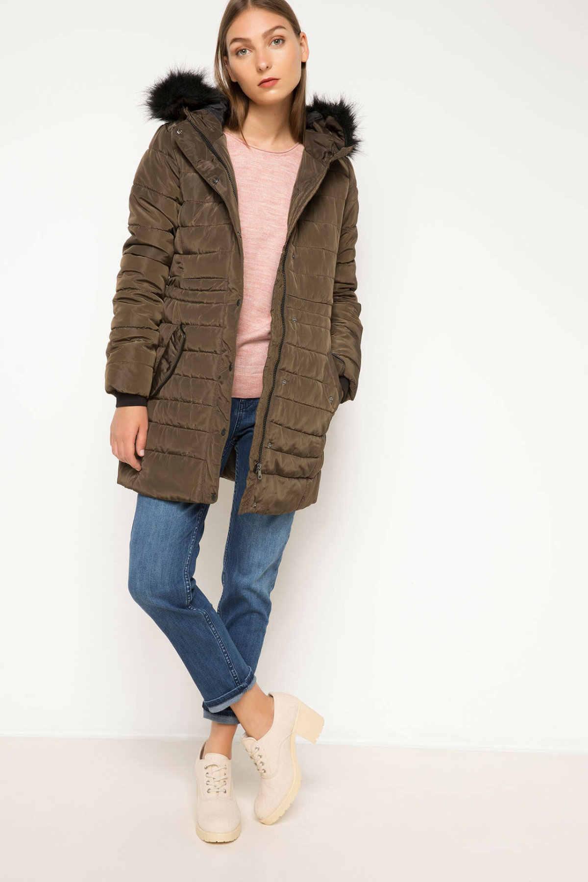 De facto płaszcz damskiParka H1550AZ17WN    AliExpress