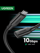 Ugreen USB Verlängerung Kabel USB C Extender Kabel Für XiaoMi Huawei Samsung Macbook Air Nintendo Schalter USB 3,0 Verlängerung Kabel
