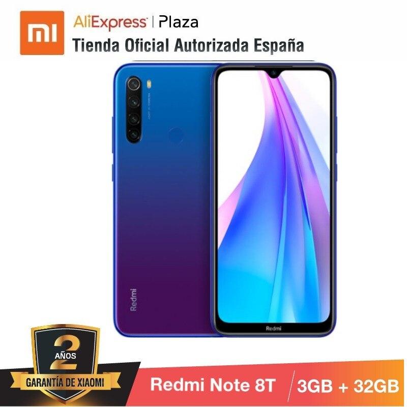 Note 8T (32GB ROM Con 3GB RAM, 13MP, Frontal Cámara, Batería De 4000 MAh, Android, Nuevo, Libre) [Teléfono Movil Versión Global]