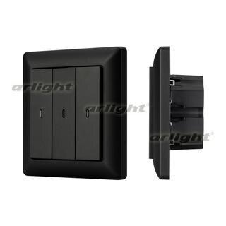 023848 Panel Knob SR-KN0320-IN Graphite (KNX, DIM) Box-1 Pcs ARLIGHT-Управление Light/Lot KNX/^ 83
