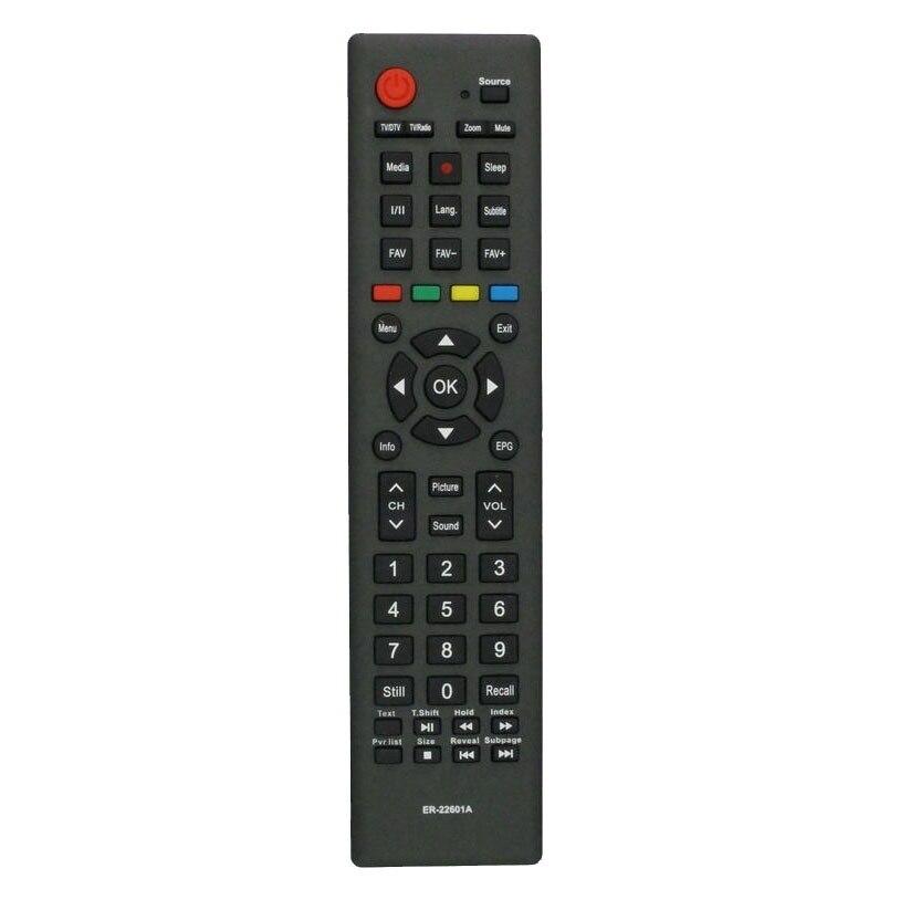 TV Remote Control DEXP, Doffler 40CF59-T2, Hisense LTD-N40D50TS, Supra ER-22601A F40B7000H LCD TV