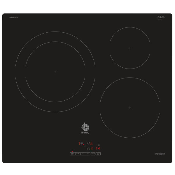 Induction Hot Plate Balay 3EB865ER 60 cm|Cooktops| |  - title=
