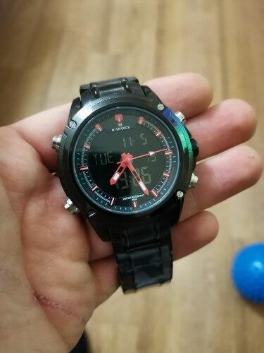 -- Quartzo Analógico Relógio