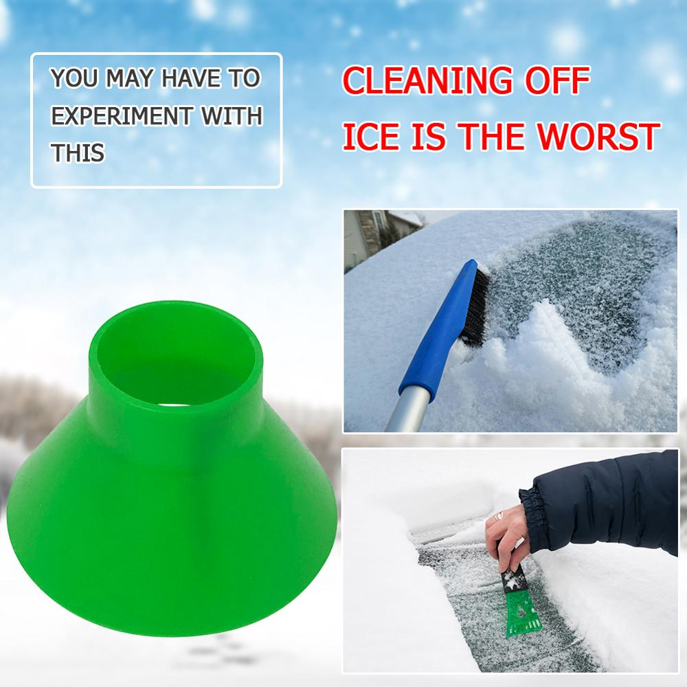 Magic Cone Shaped Ice Scraper Shovel Remover Outdoor Car Winter Window Windshield Snow Ice Shovel Removal Auto Cleaning Tools