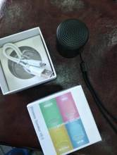 Bluetooth speaker received, sound quality clear, volume is large enough, packaging is very