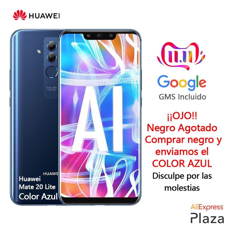 Huawei Mate 20 Lite Color Azul(4GB RAM,64GB ROM,teléfono Móvil.libre,nuevo,barato,google,android)[Versión Española Oficial]
