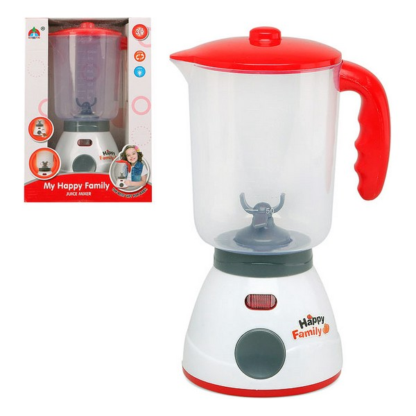 Cup Blender Happy Family 113296 Red White
