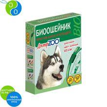 Доктор Зоо Био Ошейник против блох и клещей для собак Зеленый 65 см