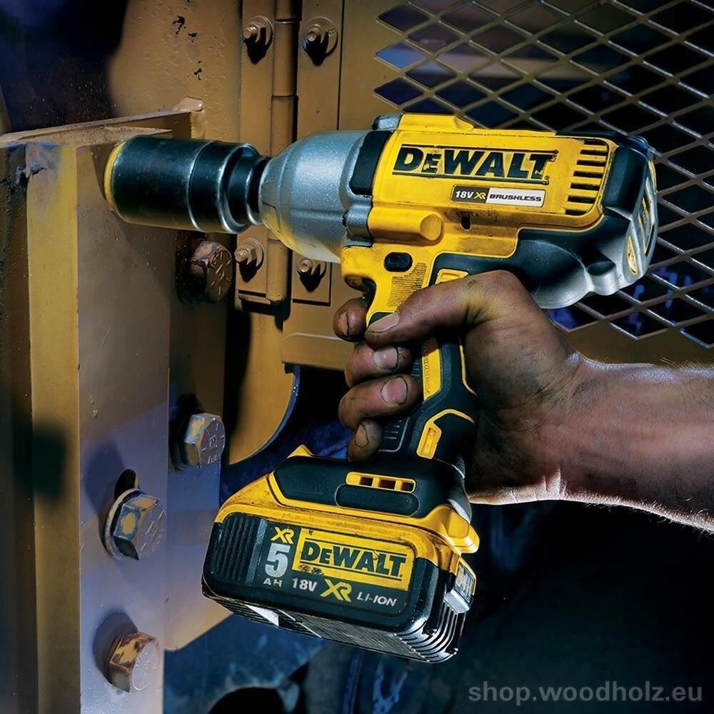 DCF899P2 18 Volt 5.0 Ah Li-ion Dual Cordless Professional Impact Wrench Drill