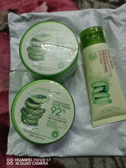 60ml Face Soothing Gel Aloe Vera Gel Skin Care Remove Acne Moisturizing Day Cream After Sun Lotions Aloe Gel photo review