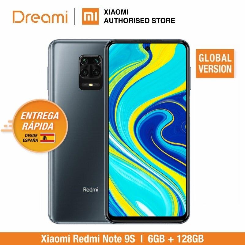 Versão global xiaomi redmi note 9s 6gb ram 128gb rom (novo/selado) redminote9s, redmi, nota, 9s smartphone móvel
