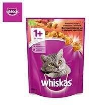 Сухой корм для кошек Whiskas Вкусные подушечки с нежным паштетом, Аппети