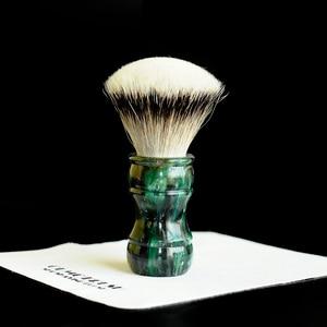 Image 3 - OUMO PINSEL Terrakotta krieger rasieren pinsel mit SHD HMW silberspitz dachs knoten gel stadt 26MM28MM
