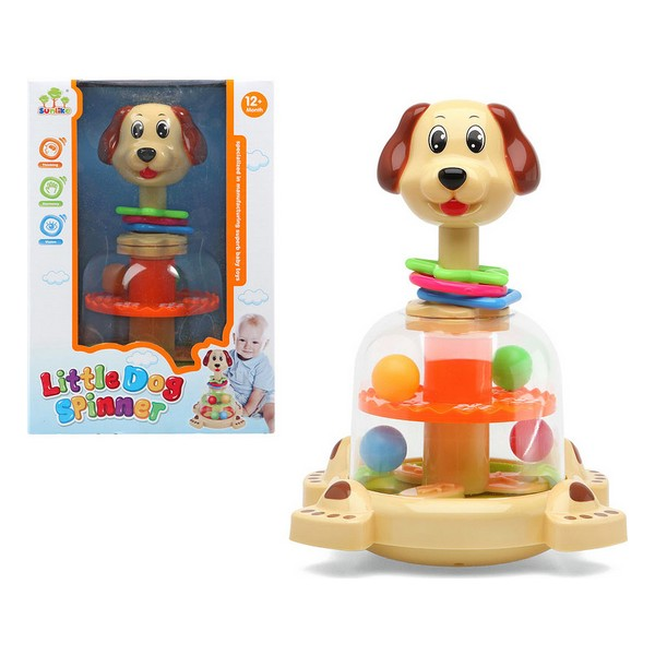 Interactive Toy For Babies Little Dog Spinner 111403