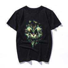 Горный велосипед с мордочкой кота футболка бла женское стильное