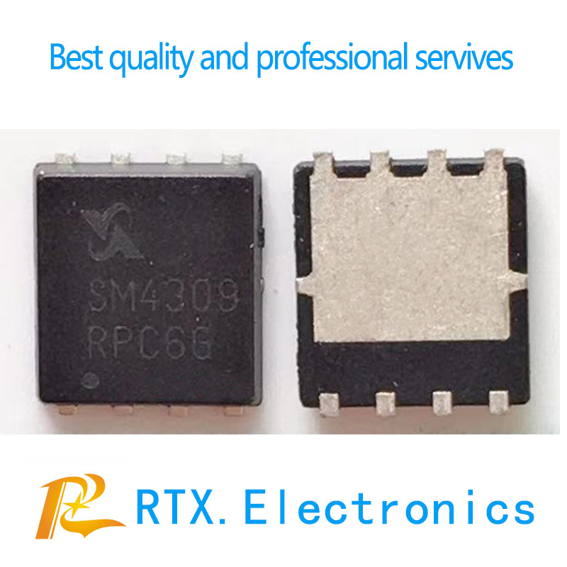 SM4364 SM4373 SM4372A SM4337 SM4370  SM4309 SM4309PSKPC-TRG SM4373NSKPC-TRG SM4373NSKPC  SM4301 QFN-8 Mosfet Chip For Computer