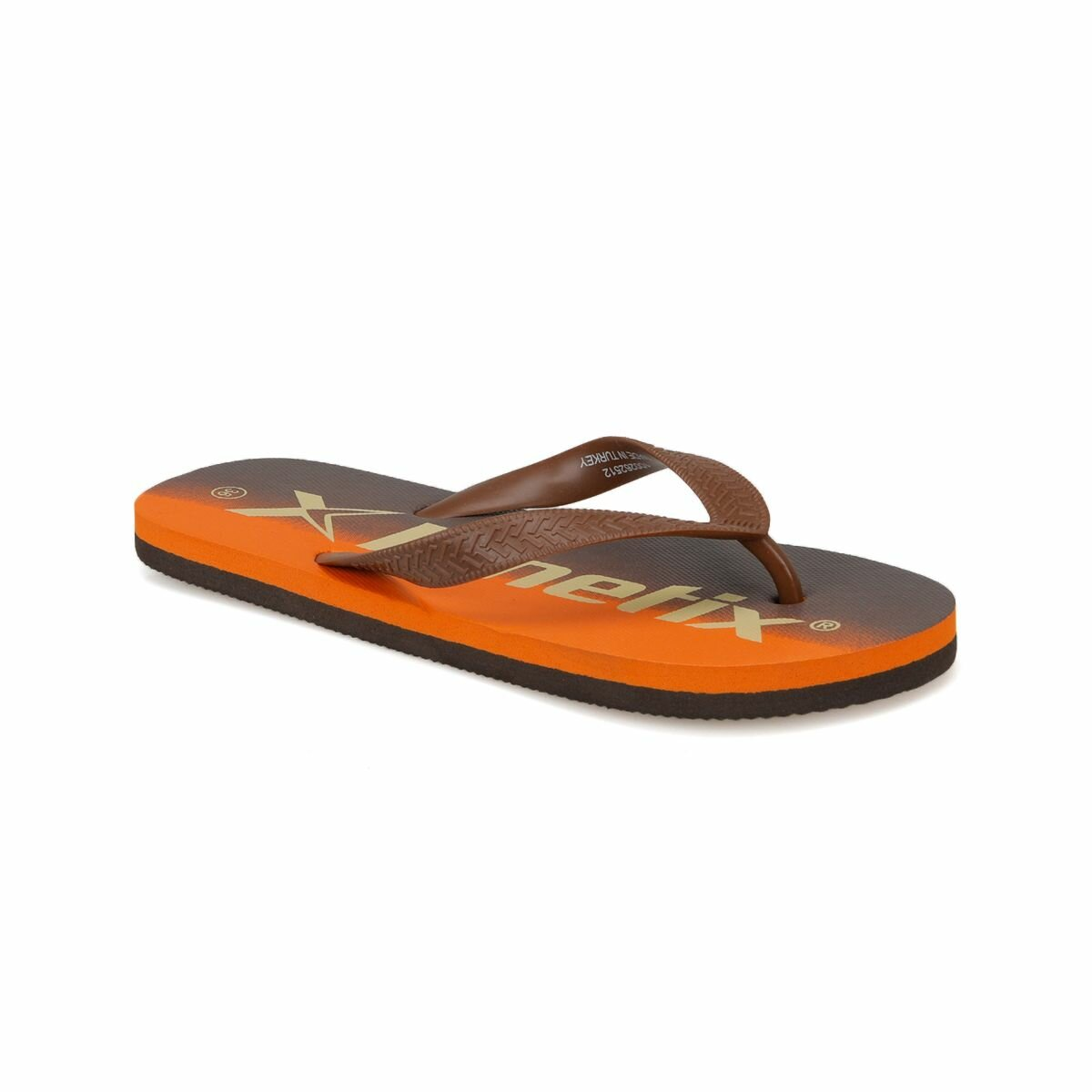 FLO NAGA Orange Men 'S Slippers KINETIX