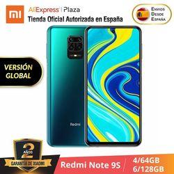 Xiaomi Nota Redmi 9S (4 64GB ROM GB RAM / 128GB 6GB Snapdragon™720) [Teléfono Móvil Versión Global parágrafo España] note9s