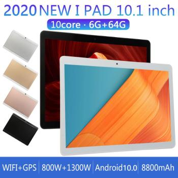 2020 New S3 Tablet PC 10.1 inch IPS 1960*1080 Android 10 Tablets 6GB+128GB 4G LTE 10-Core MTK6797 Smart Tablets PC With GPS WiFi 10 1 inch official original 4g lte phone call google android 7 0 mt6797 10 core ips tablet wifi 6gb 128gb metal tablet pc