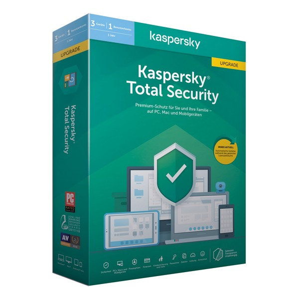 Home Antivirus Kaspersky Total Security MD 2020 (3 Devices)