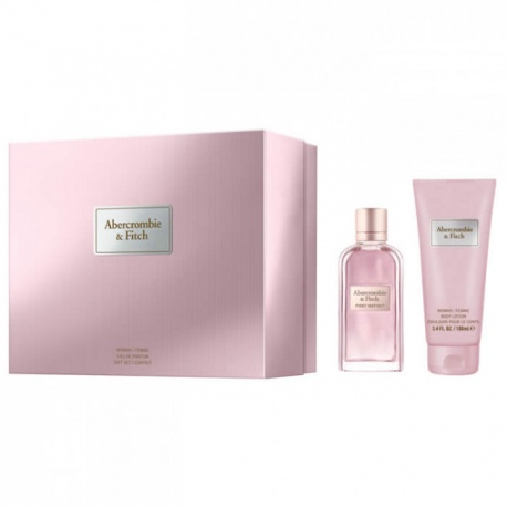 ABERCROMBIE FITCH WOMAN FIRST INSTINCT 50ML EDP + BODY LOTION 100ML