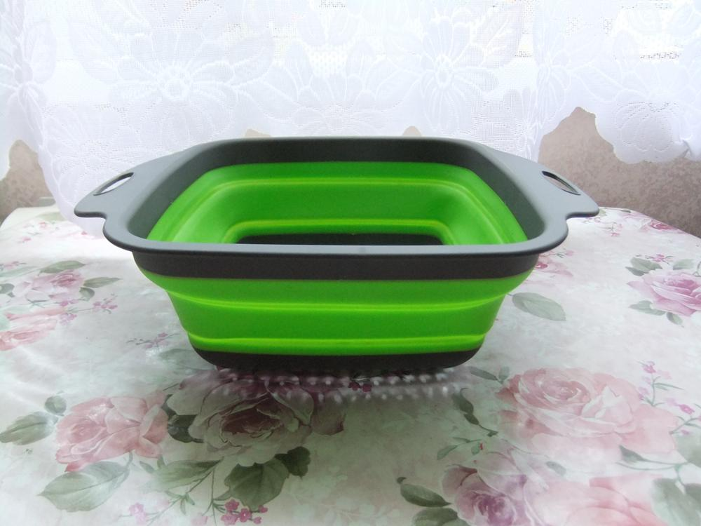 Collapsible Silicone Colanders Set Of 2 photo review
