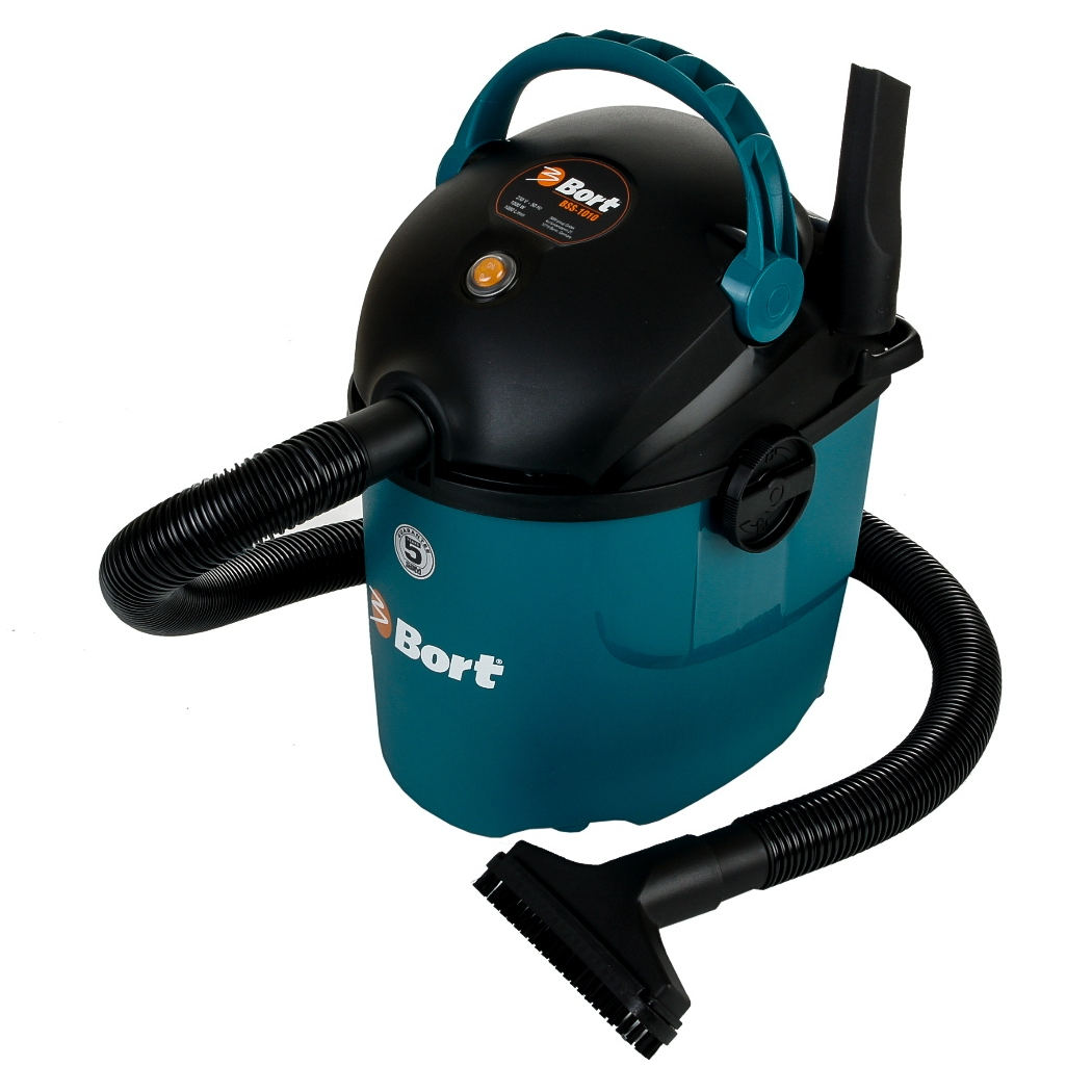 Electric vacuum cleaner Bort BSS-1010 (Power 1000 W, dry and wet cleaning function blowing)