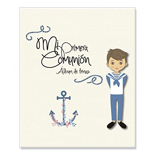Album Signature And Pictures 1ª Communion CHILD-Details And Gifts For Weddings, Christening Suits, Communions, Birthday And Holiday.