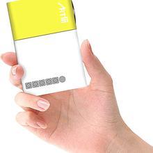 Artlii 2019 New Pico Projector Pocket Beamer, Mini Projector