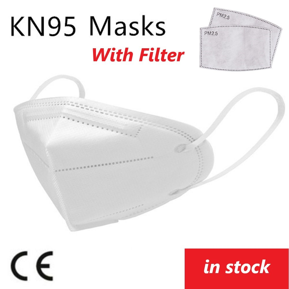 10 Pcs N95 Mask Dustproof Anti-fog Breathable Face Mask  95% Filtration KN95 Mouth Masks FFP2 FFP3 Protective Mouth Muffle Cover